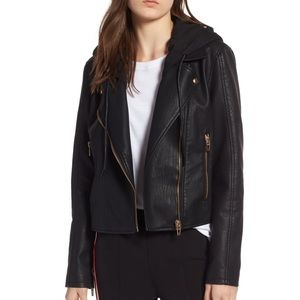 Blank NYC faux leather jacket (XS)